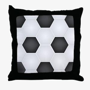 Football Ball Texture Throw Pillow