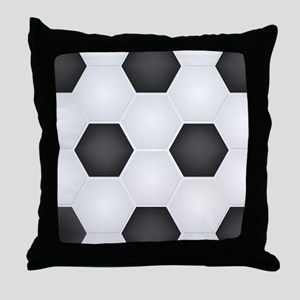 Football Ball Texture Throw Pillow