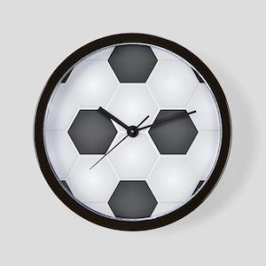 Football Ball Texture Wall Clock