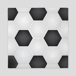 Football Ball Texture Queen Duvet