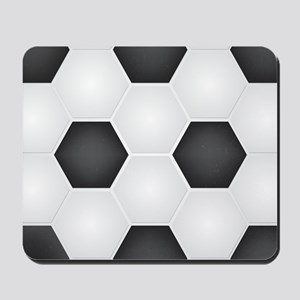 Football Ball Texture Mousepad
