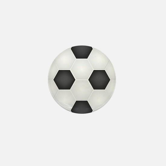 Football Ball Texture Mini Button