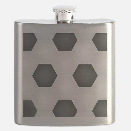 Football Ball Texture Flask