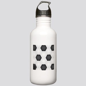 Football Ball Texture Sports Water Bottle