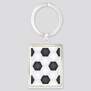 Football Ball Texture Keychains
