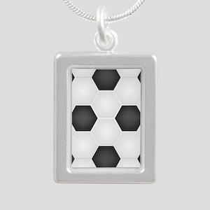 Football Ball Texture Necklaces