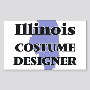 Illinois Costume Designer Sticker