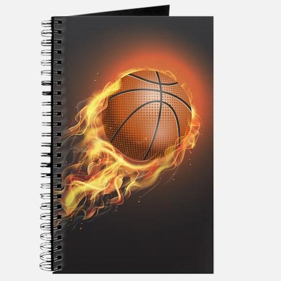 Flaming Basketball Journal