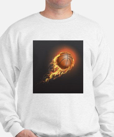 Flaming Basketball Jumper