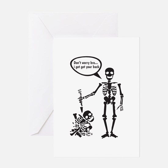 I Got Your Back Greeting Cards