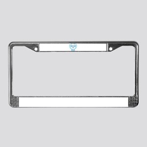 Don't Tread on My Uterus License Plate Frame