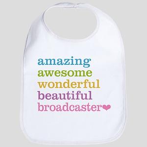 Amazing Broadcaster Bib