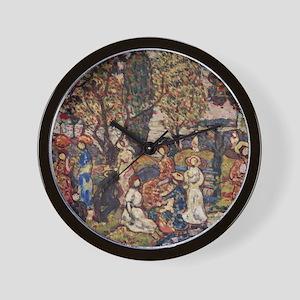 Autumn by Prendergast Wall Clock