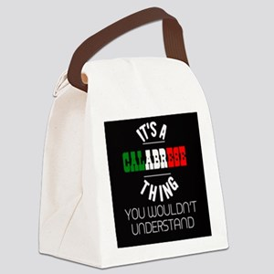 Calabrese Thing Canvas Lunch Bag