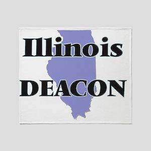 Illinois Deacon Throw Blanket