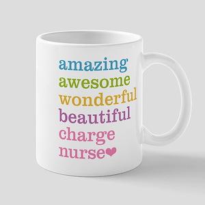 Amazing Charge Nurse Mugs