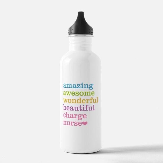 Amazing Charge Nurse Water Bottle