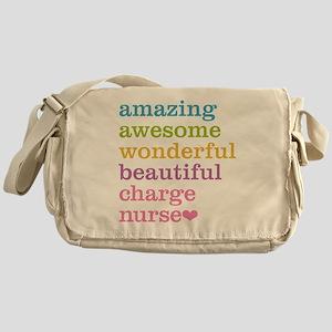 Amazing Charge Nurse Messenger Bag