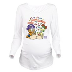 Candy! Candy! Candy! Long Sleeve Maternity T-Shirt