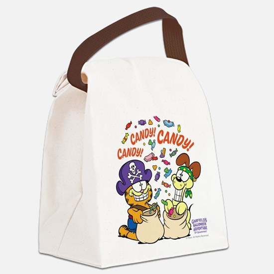 Candy! Candy! Candy! Canvas Lunch Bag