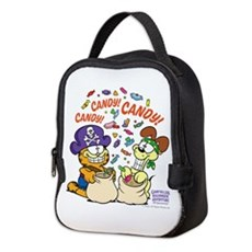 Candy! Candy! Candy! Neoprene Lunch Bag
