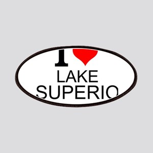 I Love Lake Superior Patch