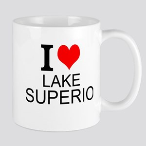 I Love Lake Superior Mugs