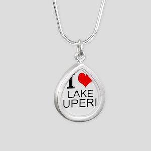 I Love Lake Superior Necklaces