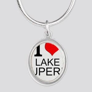 I Love Lake Superior Necklaces