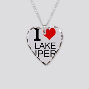 I Love Lake Superior Necklace