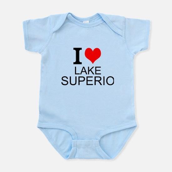 I Love Lake Superior Body Suit