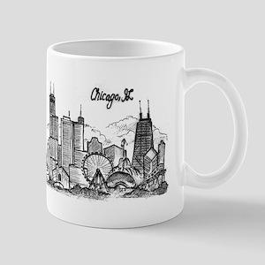 landmarks clean Mugs