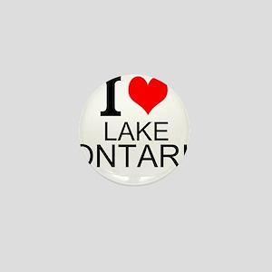 I Love Lake Ontario Mini Button