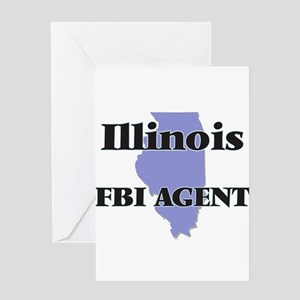 Illinois Fbi Agent Greeting Cards