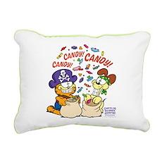 Candy! Candy! Candy! Rectangular Canvas Pillow