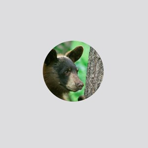 Black Bear in The Woods Mini Button