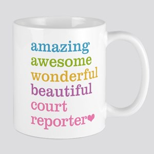 Amazing Court Reporter Mugs