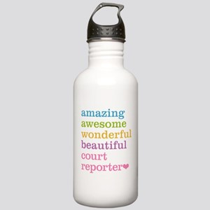 Amazing Court Reporter Stainless Water Bottle 1.0L