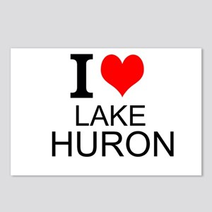 I Love Lake Huron Postcards (Package of 8)