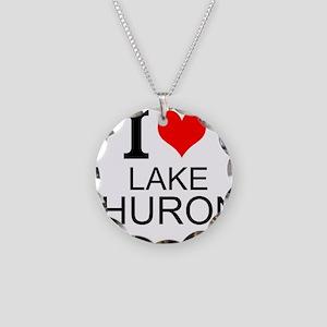 I Love Lake Huron Necklace