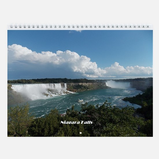 Scenes From Niagara Falls Wall Calendar