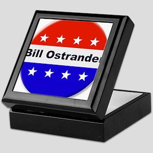 Vote Bill Ostrander Keepsake Box