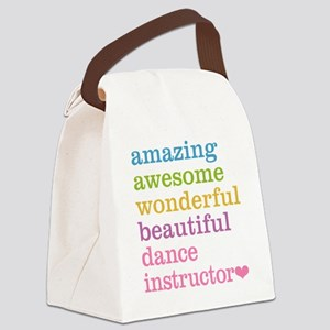 Amazing Dance Instructor Canvas Lunch Bag