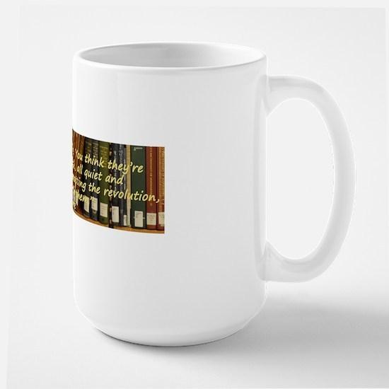 Librarians are Subversive Large Mug