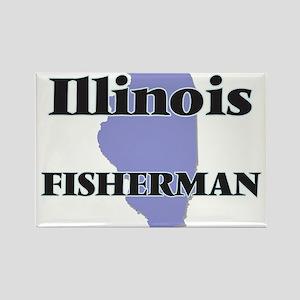 Illinois Fisherman Magnets