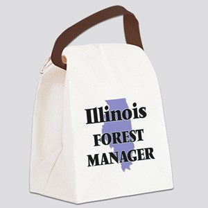 Illinois Forest Manager Canvas Lunch Bag