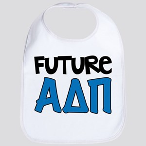Alpha Delta Pi Future Cotton Baby Bib