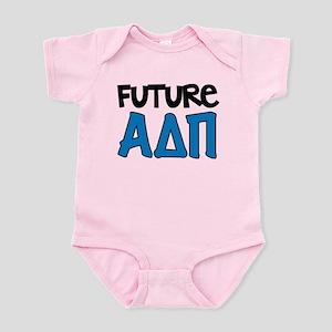 Alpha Delta Pi Future Baby Light Bodysuit