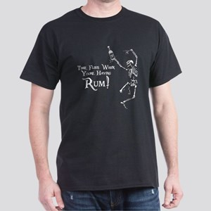 Time Flies/Having Rum Dark T-Shirt
