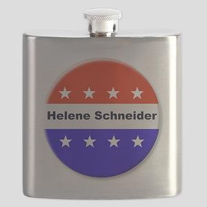 Vote Helene Schneider Flask